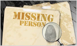 Missing Person Search Reading